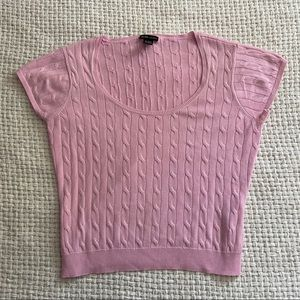 Y2K NY & Co Pink Sweater
